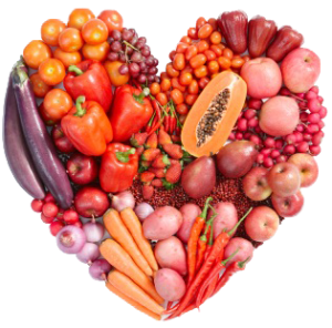 Red-Vegetables-Heart