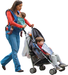 Mom Stroller Kids